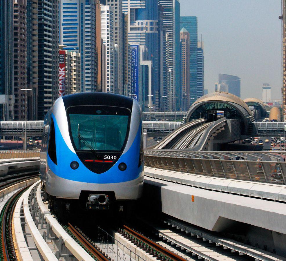 Dubai Metro kiemelt