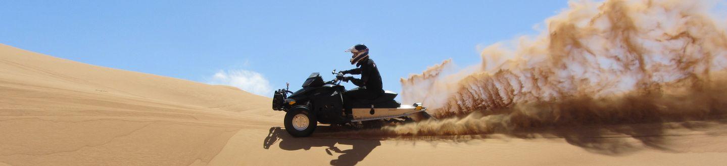 Újdonság: Sand X – homokszán