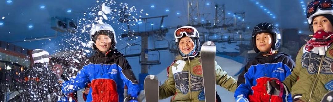 Ski Dubai – síelés