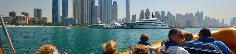 Yellow Boat – hajókázás Dubaiban